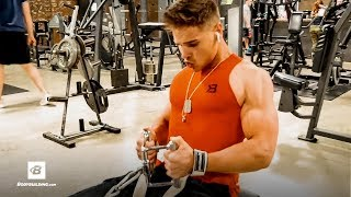 Wide Back, Narrow Waist V-Taper Workout | 19 Year Old David Foote