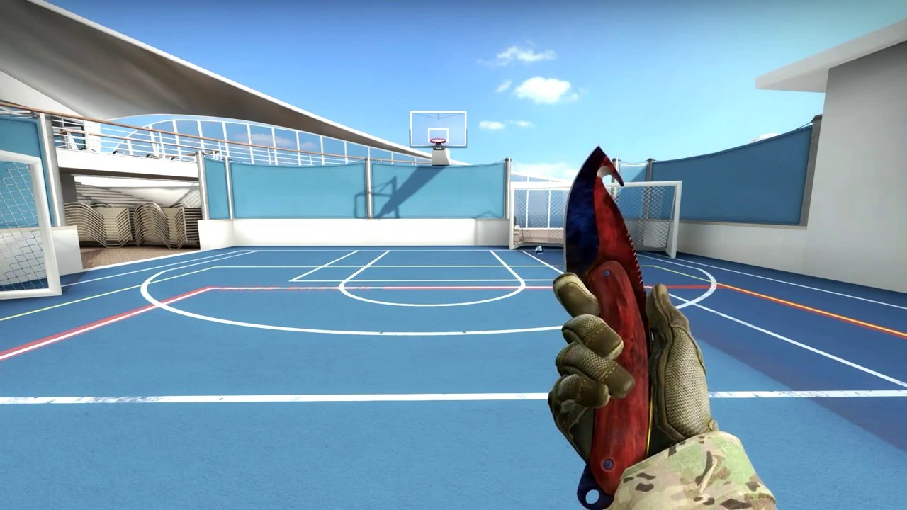 Csgo Showcase Gut Knife Marble Fade Factory New Youtube