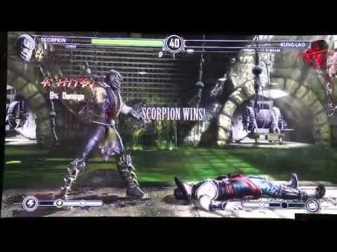 Mortal Kombat 9 - Cyrax/Scorpion Vs Kung Lao/Kitana ...