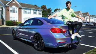 MY CAR IS DONE! (BMW M4 WRAP REVEAL!)