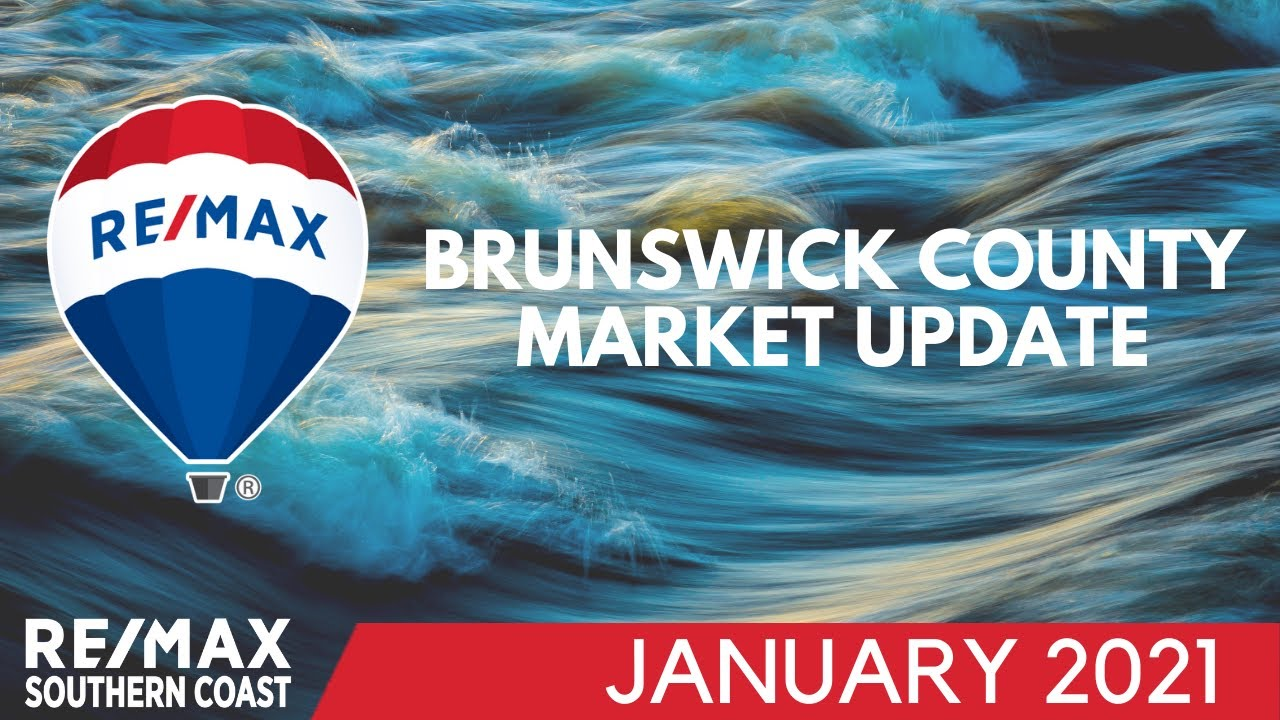 Brunswick County January Market Stats remain impressive • January 2021