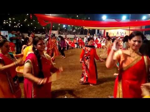 Dandiya at NHPC Colony Faridabad on the occasion of Navratri