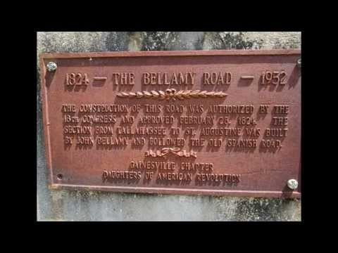 Old Bellamy Road Alachua County