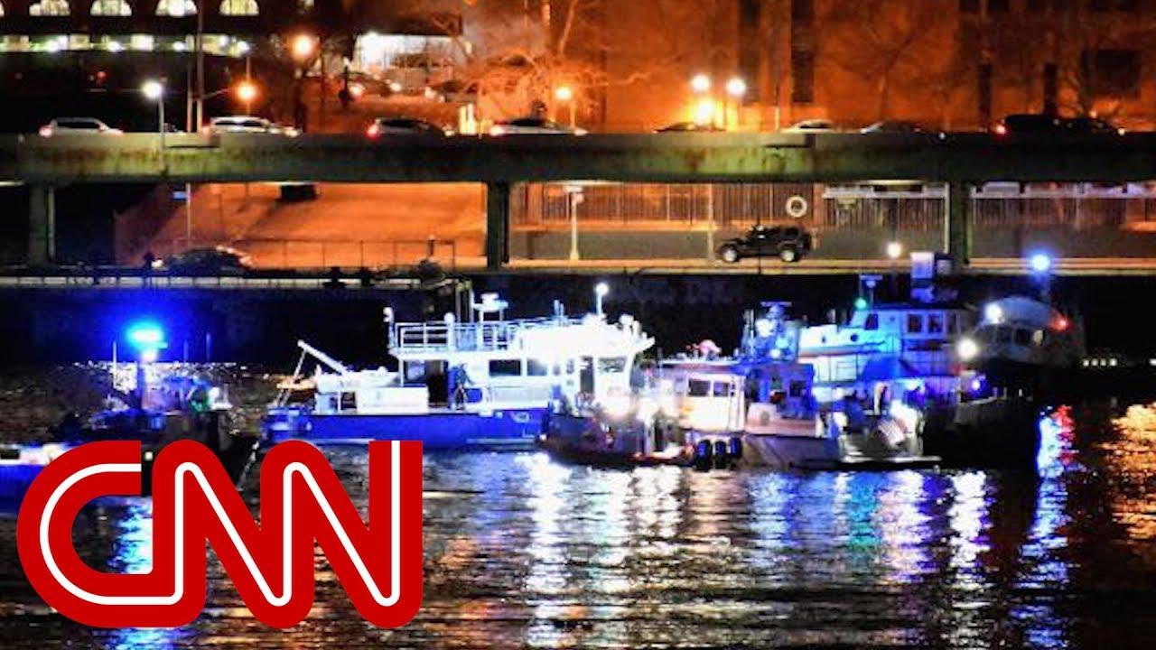 Helicopter down in New York's East River - Dauer: 108 Sekunden