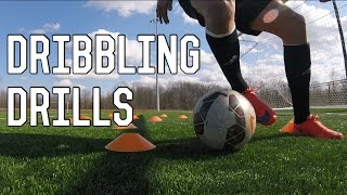 How To Improve Dribbling | Essential Dribbling Drills For Footballers/Soccer Players