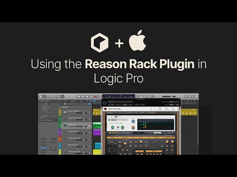 Getting up and running with Reason in Logic Pro X