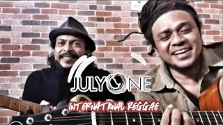 1 July Hari Reggae International.. Nyanyiin lagu Anak Pantai nya Imanez bareng Conrad.. walayooo