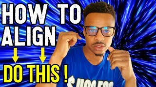 How to Align Yourself With The Universe STEP-BY-STEP INSTRUCTIONS | Law of Attraction