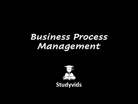 N0601G  Business Process Management
