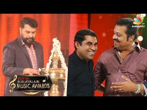 Mammootty Inaugurates RED FM Musical Awards 2016 | Suresh Gopi, Suraj Funny Speech | Lelam 2