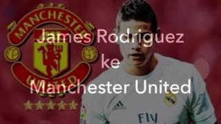 James Rodriguez Manchester United