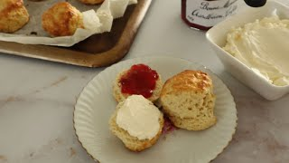 Homemade Classic Scones with Clotted Cream - Episode 514 - Baking with Eda