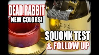 Dead Rabbit RDA Review Squonk Single Coil Test GIVEAWAY Dead Rabbit by Heathen and HellVape