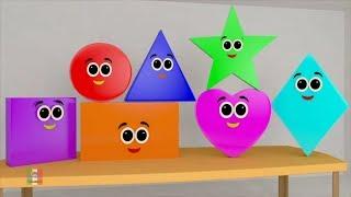 La canzone delle forme | forme italiane | canzoni per bambini | Shapes Song | Preschool Italiano