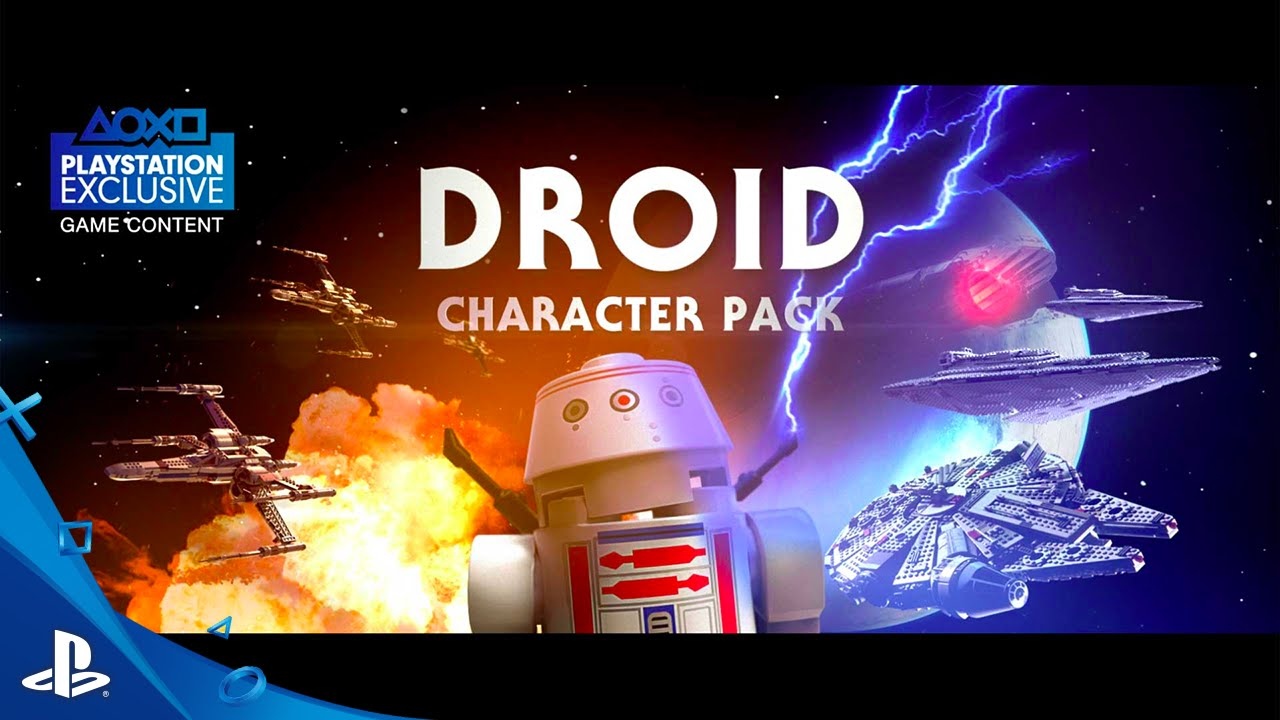 Lego Star Wars The Force Awakens Droids Character Spotlight