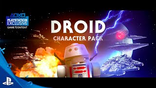 LEGO Star Wars: The Force Awakens - Droids Character Spotlight Trailer | PS4, PS3