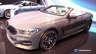 2019 BMW M850i xDrive Convertible - Exterior and Interior Walkaround - Debut 2018 LA Auto Show