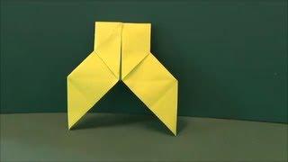 """袴を折り紙で作りました。The hakama was made from origami. ▽「やっこさん」""""Yakkosan"""" http://youtu.be/_F4Q6J1hgW4 Designed by traditional ▽他にもいろいろな ..."""
