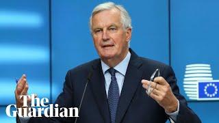 Michel Barnier raises concerns over UK's latest Brexit plan