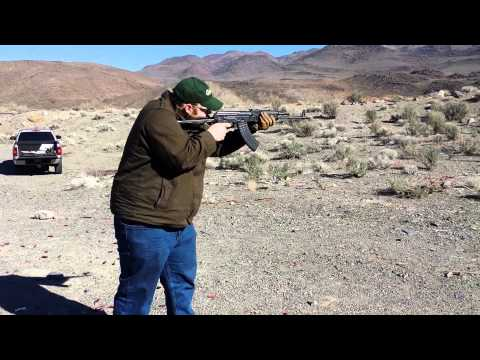 Full Auto AKMS and AK74