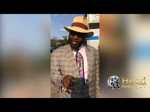 Minister Seamore, giving a shout out to Bishop Don Magic Juan and Snoop Dogg