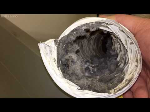 How to Clean Your Dryer Vent - Dryer Vent Filter Cleaning and Fire Prevention