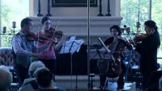 Miniatures Set No. 4 by Erberk Eryilmaz, performed by Carpe Diem String Quartet