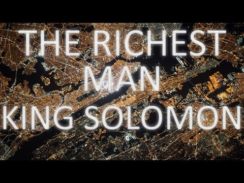 The Richest Man Who Ever Lived: King Solomon's Secrets to Success, Wealth... by Steven K. Scott