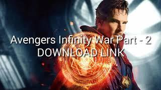 Avengers infinity war part 2 free download