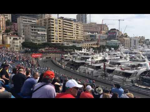 Monaco F1 GP 2016 Practice Tribune K