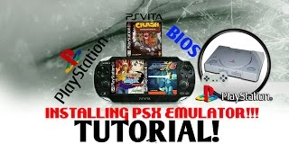 Installing PSX Emulator on PS Vita Tutorial! Capcom Vs SNK PRO! Megaman X6! Crash Bandicoot!