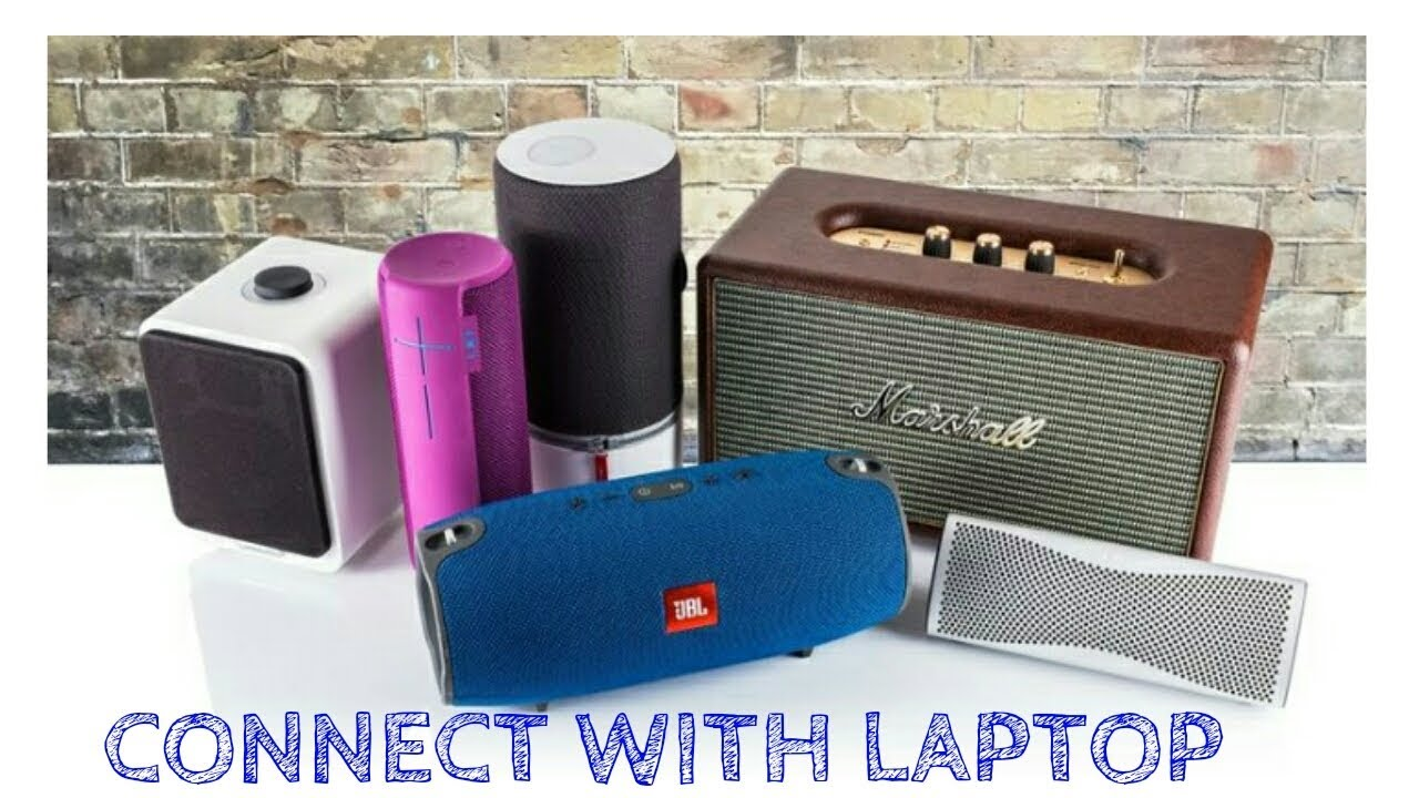 How to connect Bluetooth speaker with pc or laptop.