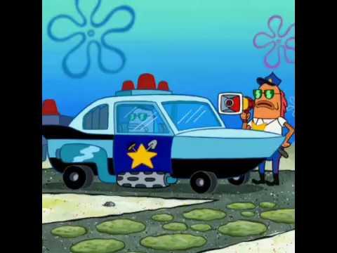 SpongeBob police