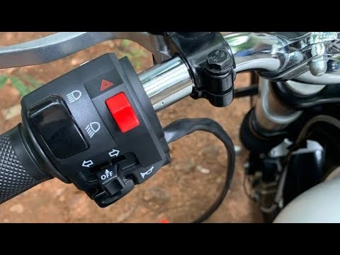 Hazard Switch For Continental Gt 650