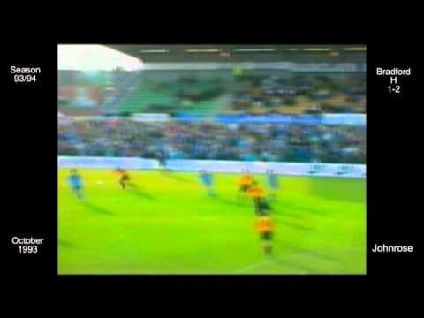 1993 - 1994 Hartlepool FC 13 L Bradford - Johnrose