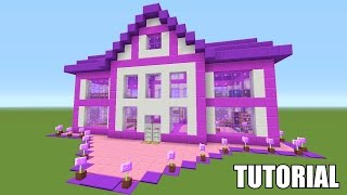 Minecraft Tutorial: How To Make A Barbie Dream House!! Survival House (ASH#39)(In this video I will be showing you guys how to build a really cool Barbie Dream House Themed survival house in Minecraft. This house comes from the latest ..., 2016-02-05T18:00:05.000Z)