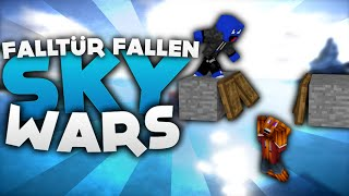 Falltür Fallen!! - Minecraft Sky Wars! | DieBuddiesZocken