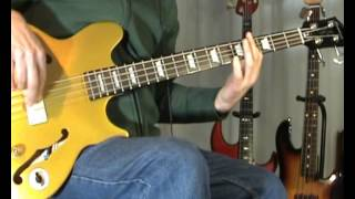 Phil Everly & Cliff Richard - She Means Nothing To Me - Bass Cover
