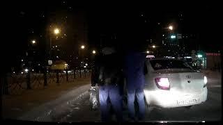 Неадекватный таксист в Казани