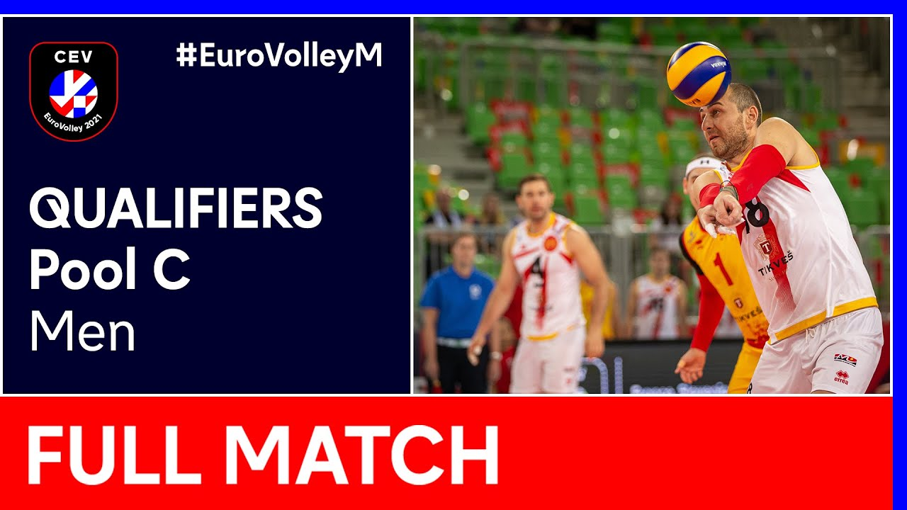 Bosnia & Herzegovina vs. North Macedonia - CEV EuroVolley 2021 Qualifiers Men