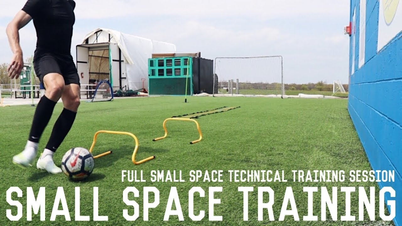 Small Space Training Session | How To Train In Small Spaces Effectively