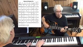 Moonlight Becomes You - Jazz guitar & piano cover ( Jimmy Van Heusen )