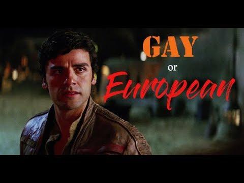 Poe Dameron • Gay or European?