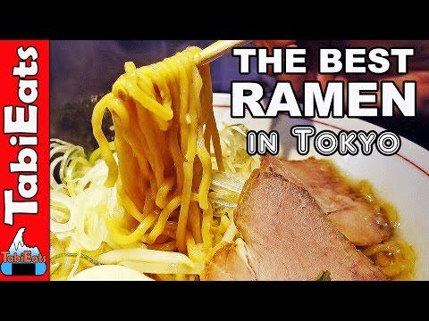 BEST RAMEN NOODLES in Tokyo Japan : NOGATA HOPE