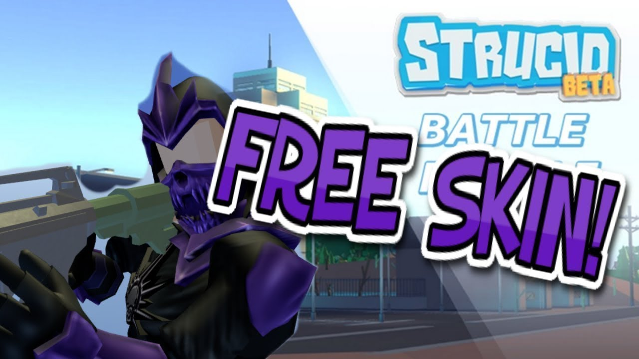 How to get *FREE SKIN!* (Strucid) - YouTube