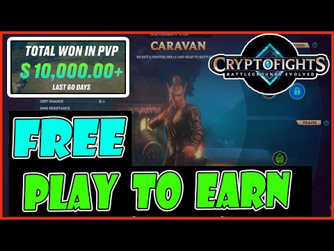 FREE PLAY TO EARN CRYPTOFIGHTS (TAGALOG) – BEST NFT GAME – BLOCKCHAIN GAMES – CASH – GOOD GRAPHICS