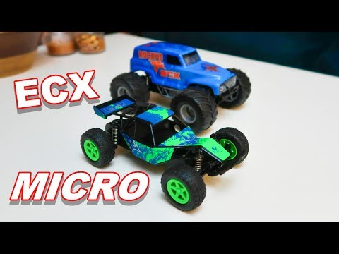 FUN ECX 1/28th Micro Ground Vehicles - Roost and Ruckus - TheRcSaylors