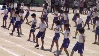 Repeat youtube video 130928西小運動会5年団体演技「イロトリドリ」