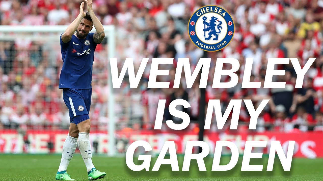 "Giroud's FA Cup ""Wembley Is My Garden!"" - YouTube"