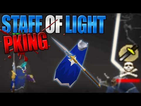 Staff of Light SMITES my Opponents | No Honor (OSRS)